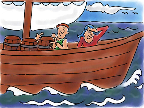 He boarded a ship and set sail back to Colossae. – Slide 34