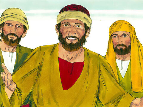 Later the disciples asked Jesus, 'Why do you teach in parables?' – Slide 8