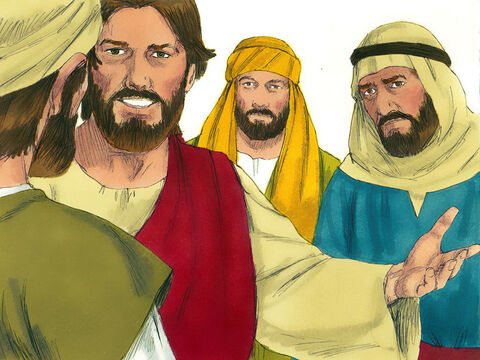 Jesus quoted words Isaiah had written many years before. 'These people see but do not see, they hear but do not understand. Otherwise they might turn and be forgiven.' – Slide 9