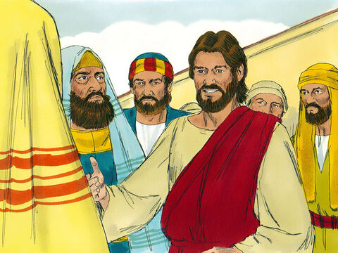 Jesus knew the chief priests, teachers of the law and elders were listening. He told the crowd this parable. – Slide 2