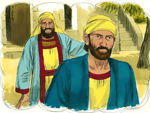 All the farmer had left was his son whom he dearly loved. 'They will respect my son,' he thought and sent him. – Slide 10