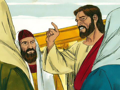 Jesus asked, 'What will the owner of the vineyard do?' – Slide 12