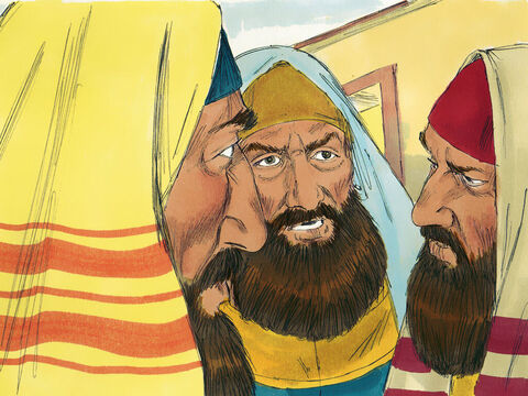 The chief priests and teachers of the law wanted Jesus arrested right away as He had spoken this parable about them. But they were afraid the people would stop them as they thought Jesus was a prophet. – Slide 16