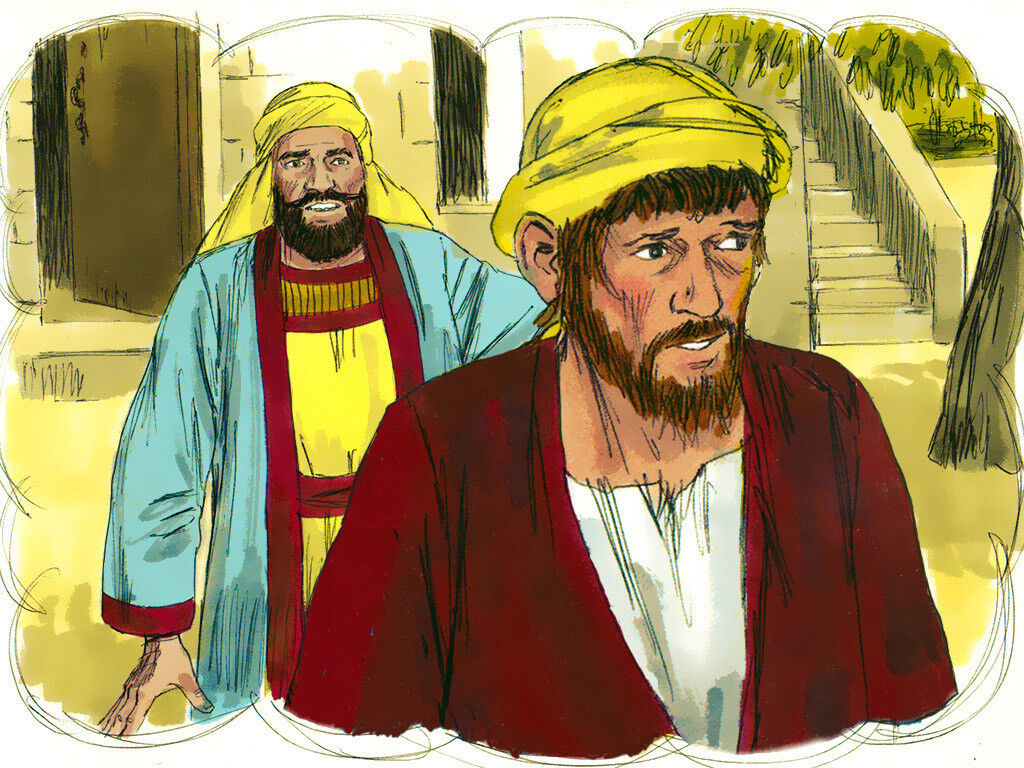 Summary of the Parable of the Two Sons