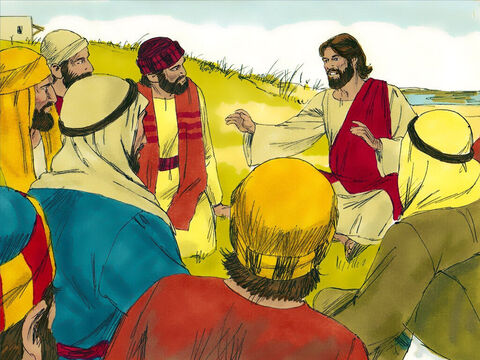 Jesus always used stories and illustrations when speaking to the crowds. On one occasion Jesus said, 'The Kingdom of Heaven is like a mustard seed planted in a field. – Slide 1