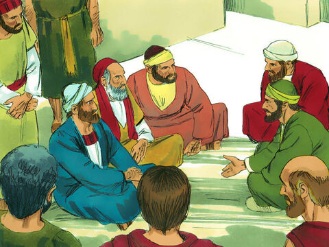 Paul and Barnabas went to the Jewish synagogue and preached with such power that a great number of both Jews and Greeks became believers. They stayed in the town for some time and God gave them the power to do miraculous signs and wonders. – Slide 12
