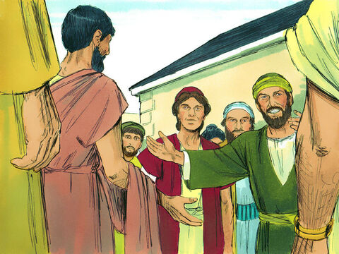 Paul, Silas and Timothy went from town to town, instructing the believers to follow the decisions made by the apostles and elders in Jerusalem. The churches were strengthened in their faith and grew larger every day. – Slide 8