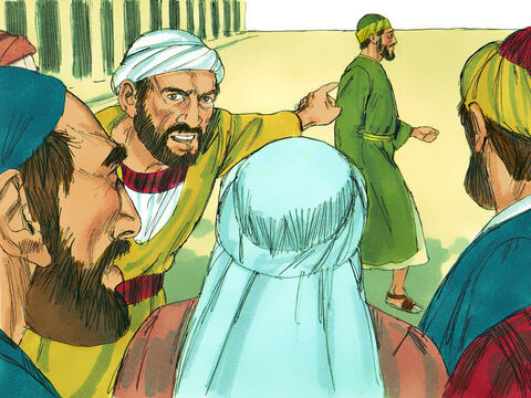 Seven days later some Jews from Asia saw Paul with Trophimus, a Gentile from Ephesus,and they mistakenly assumed Paul had taken him into a part of the Temple gentiles were forbidden to enter. They quickly gathered a mob. – Slide 3