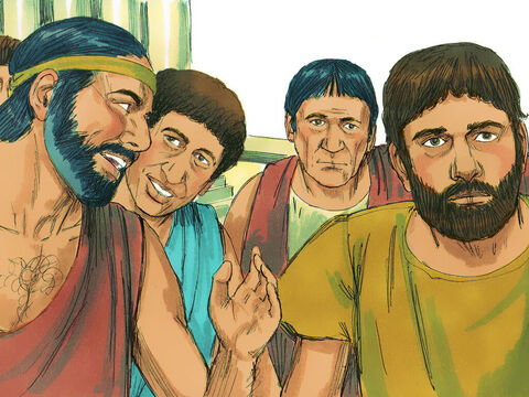 When they heard Paul speak about the resurrection of the dead, some laughed in contempt, but others said, 'We want to hear more about this later.' – Slide 12