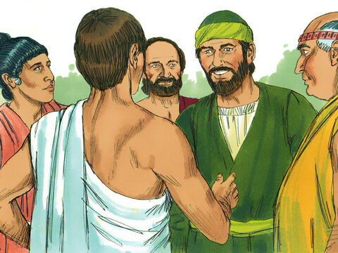 That ended Paul's discussion with them. Some, however, became believers including Dionysius, a member of the council and a woman named Damaris. – Slide 13