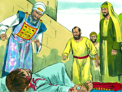 Acts 7:58 A key person involved in the death of Stephen was a young man called Saul. Those stoning Stephen took off their coats and left them at the feet of Saul. – Slide 1