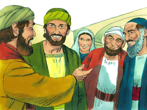 Saul spent several days with the disciples in Damascus – the very people he had come to arrest. – Slide 15