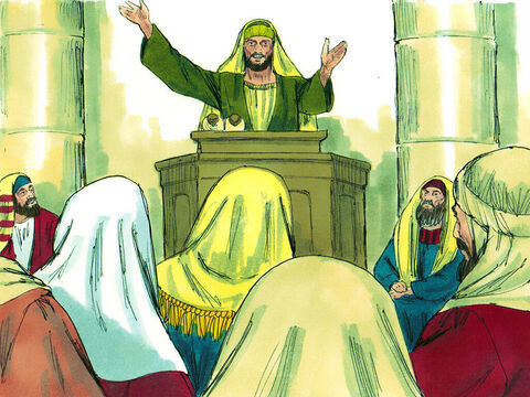 Immediately Saul began to preach in the synagogues that Jesus is the Son of God. – Slide 16