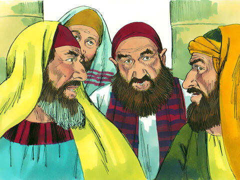 Those listening were astonished and asked, 'Isn't he the man who caused so much trouble for Christians in Jerusalem and came here to arrest them?' – Slide 17