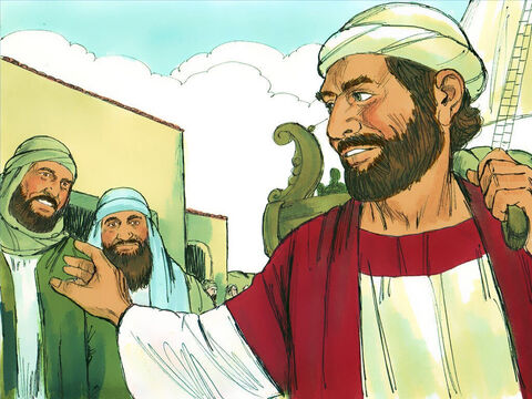 These new Christians needed teaching so Barnabas set off to find someone who could join the leaders to help. – Slide 4