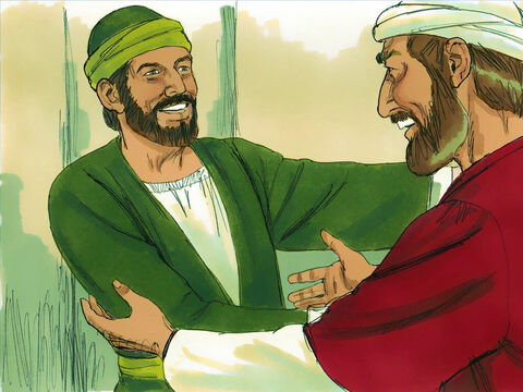 Barnabas encouraged Paul to come to Antioch to help the new converts. – Slide 6