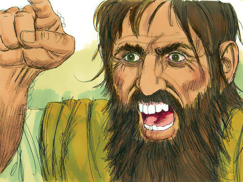 One time when they tried it, the evil spirit replied, 'I know Jesus, and I know Paul, but who are you?' – Slide 9