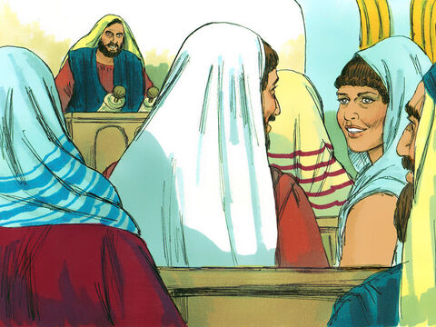 When Priscilla and Aquilaheard him at the synagogue, they invited him to their home and explained to him the way of God more adequately. – Slide 7