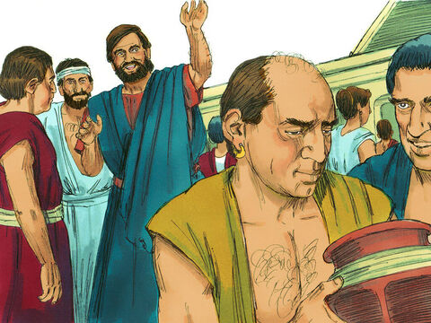 Apollos was a gifted speaker, good at debating with people and sharing his faith. – Slide 8