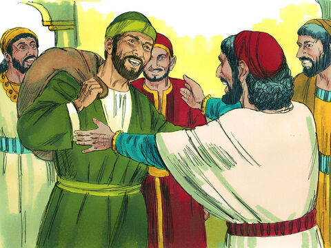 Again he was welcomed by the Christians there and shared his adventures with them. After spending some time in Antioch, Paul traveled from place to place throughout the region of Galatiaand Phrygia,strengthening all the disciples. – Slide 14