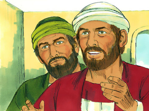 Everyone listened quietly as Barnabas and Paul told them the miraculous signs and wonders God had done among the Gentiles. – Slide 8