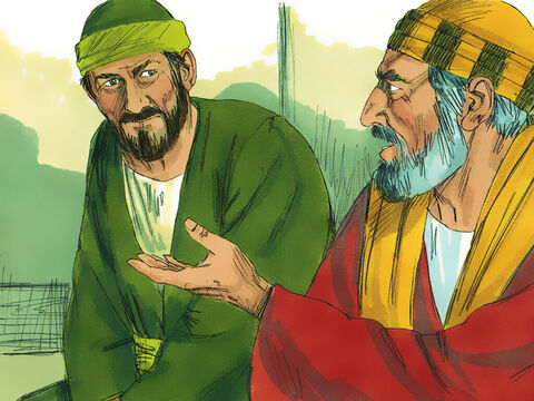 The next day, Paul met with James, and all the elders of the Jerusalem church and gave a detailed account of the things God had done among the Gentiles through his ministry. – Slide 13