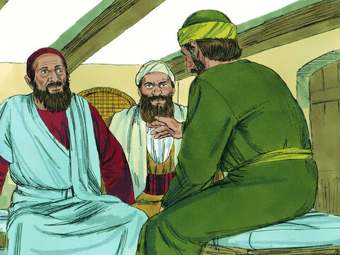 When the book of Acts closed, Paul has been a prisoner in Rome for two years. We do not know exactly what happened next but there are clues in the books Paul wrote to Timothy and Titus. They lead us to believe Paul was released from prison but later imprisoned again. – Slide 1