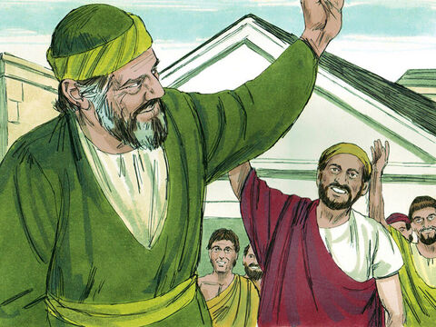 Paul also left Titus in Crete with the instruction, 'Put in order what was left unfinished and appoint elders in every town' (Titus 1:5). – Slide 3