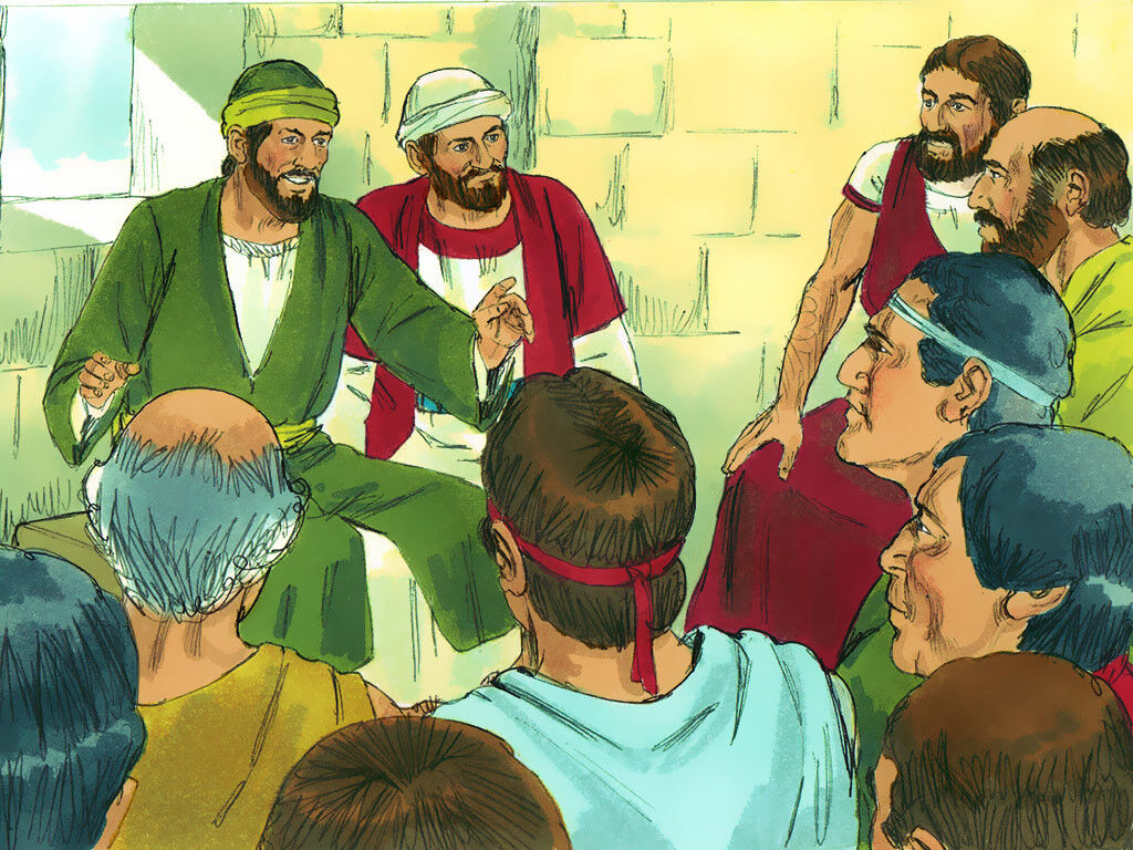 Freebibleimages Paul S First Missionary Journey Paul