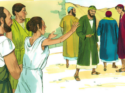 She chased after Paul and the others shouting, 'These men are servants of the Most High God, and they have come to tell you how to be saved.' – Slide 2