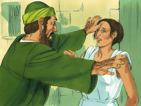 This went on day after day until Paul got so exasperated that he turned and said to the demon within her, 'I command you in the name of Jesus Christ to come out of her.' Instantly it left her. – Slide 3