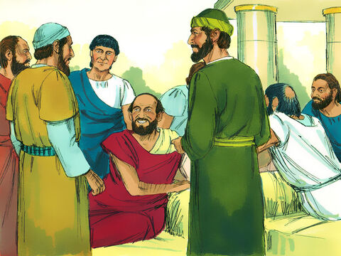 Some of the Jews were persuaded and joined Paul and Silas, along with many God-fearing Greek men and quite a few prominent women. – Slide 4