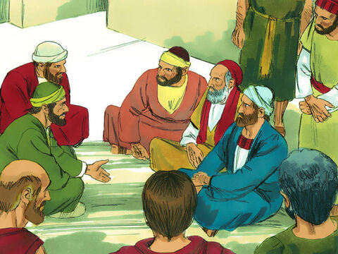 Wherever he went, he encouraged the Christians in each place he visited and told people about Jesus. – Slide 2