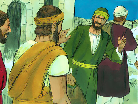 Paul was preparing to sail back to Syria when he discovered a plot by some Jews against his life, so he decided to return through Macedonia. – Slide 5