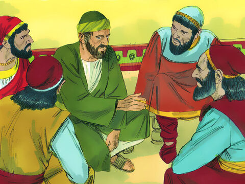 When they arrived he told them, 'You know that from the day I arrived in Asia I have done the Lord's work humbly and with many tears. I have endured many trials and plots. – Slide 16