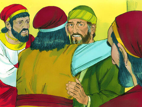 When Paul finished speaking, he knelt and prayed with them. They all cried and embraced him. They were sad because Paul had said that they would never see him again. – Slide 21