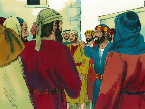 'Let everyone in Israel be sure of this: God has made Jesus, whom you crucified, both Lord and Messiah.' – Slide 8