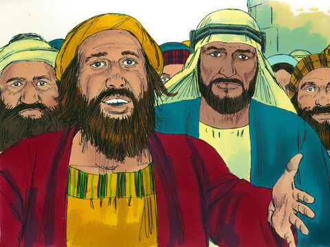 When the people heard this, they were distraught and said to Peter and the other apostles, 'Brothers, what shall we do?' – Slide 9