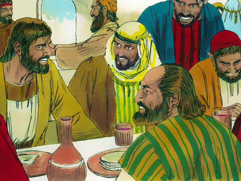 They met to learn from the apostles, break bread and to pray. All the believers shared what they had and gave to those in need. They met together in the temple courts praising God. Each day more people became Christians and joined them. – Slide 12