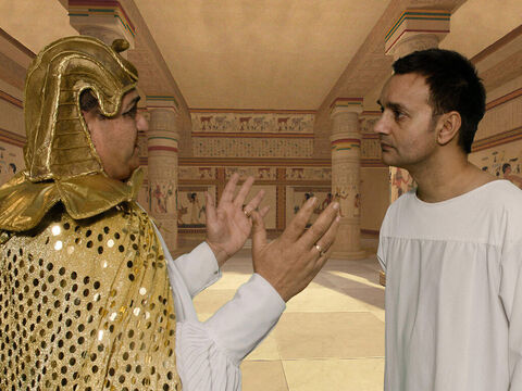 'I have had dreams that no one can explain,' Pharaoh told Joseph. 'I have been told that you can interpret dreams.' – Slide 13