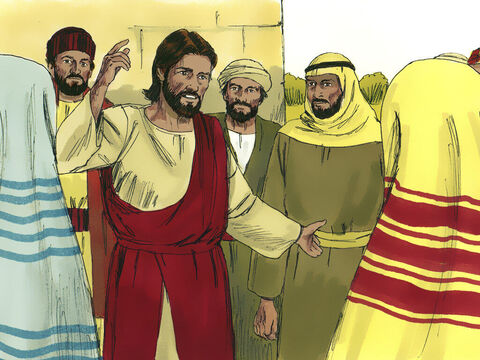 Jesus then explained, 'It was the Tax Collector not the Pharisee who returned home in the right relationship with God. Those who exalt themselves will be humbled, and those who humble themselves will be exalted.' – Slide 6