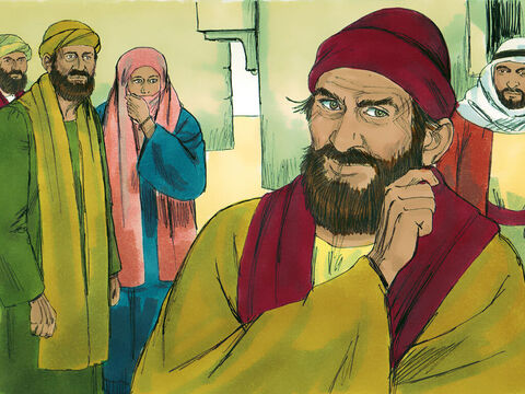 One man who came to hear Philip was Simon, a sorcerer, who had boasted he was someone great. People had been impressed with his powers. and called him 'The great power of God'. But when they saw what Philip did in the name of Jesus they believed what he said instead. – Slide 4