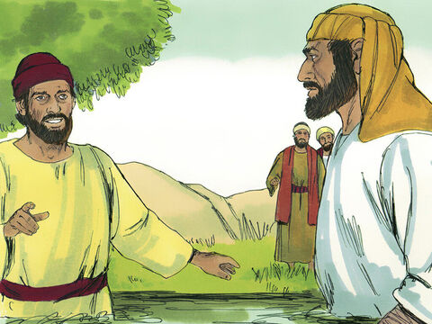Simon also turned away from sorcery, believed in Jesus and was baptised. He followed Philip wherever he went, amazed at the miracles he saw. – Slide 6