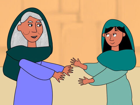 When Mary greeted her cousin the baby inside Elizabeth jumped. Elizabeth was filled with the Holy Spirit and said, 'You are blessed Mary and so is the baby you are carrying. You are blessed because you believed the promise God spoke to you.' – Slide 7