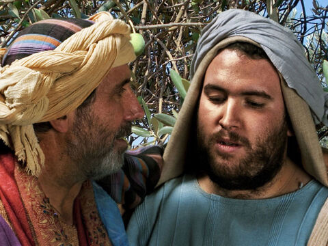 Luke 15 v 32 His father explains that everything he has belongs to the older son but they must celebrate his lost son being found. – Slide 28