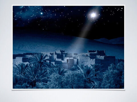 Prophecy given between 750-686 BC: He will be born in Bethlehem in Judea (Micah 5:2-5). <br/> Fulfillment: Matthew 2:1-6 – Slide 7