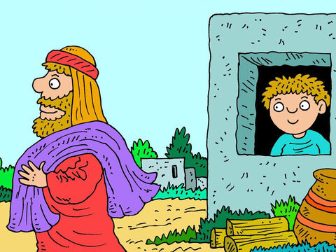 Abraham did not question God, or argue with Him. He simply obeyed. – Slide 3