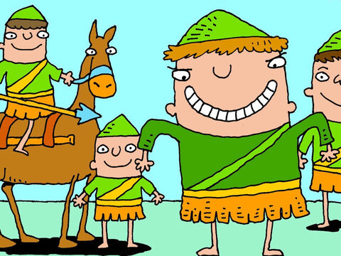Ahab was very devious. He thought that if he went into battle dressed as a king the Syrians might focus on attacking him. So he disguised himself as an ordinary soldier. – Slide 2