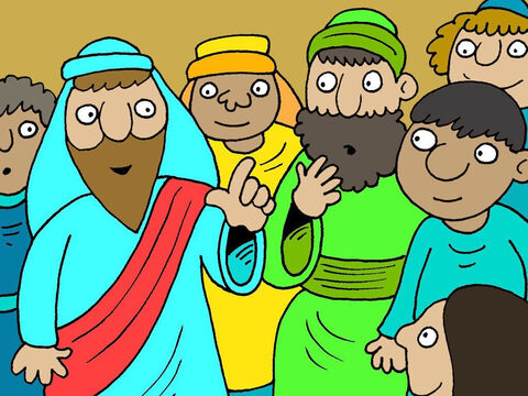 The person teaching in the synagogue that day was called Jesus. – Slide 2