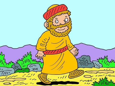 They were too late. Ehud was long gone and his daring plan had succeeded. – Slide 18